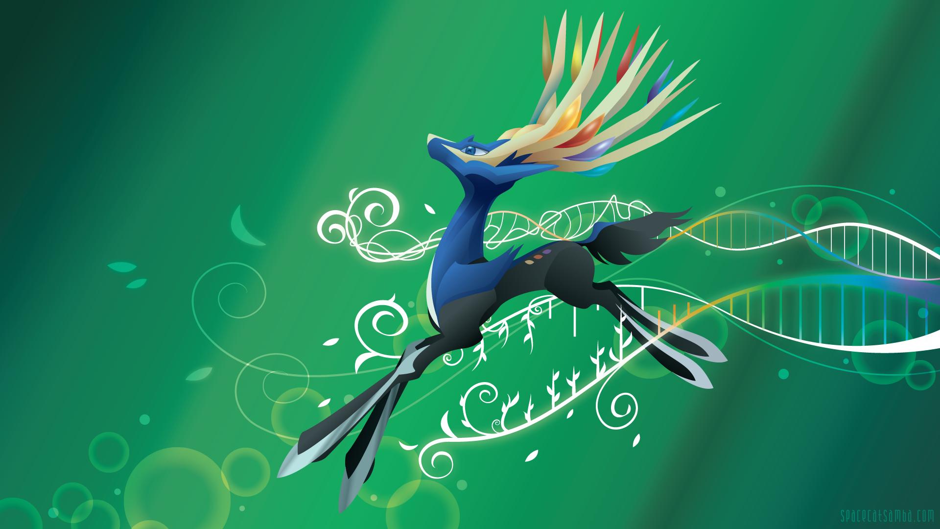 Pokemon Yveltal And Xerneas Wallpaper | www.imgkid.com ...